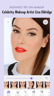 نرم افزار اندروید میکاپ پلاس - دوربین میکاپ - MakeupPlus - Makeup Camera