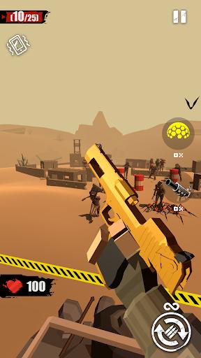 بازی اندروید  شلیک زامبی - Merge Gun: Shoot Zombie