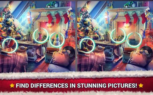 بازی اندروید پیدا کردن تفاوت کریسمس - آن نقطه - Find the Difference Christmas – Spot It