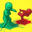 بازی مبارزه توپ رنگی