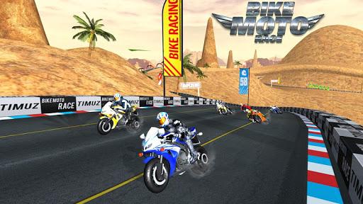 بازی اندروید مسابقه موتور سنگین - Bike Moto Race