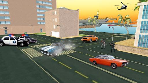 بازی اندروید شبیه ساز شهر - San Andreas Real Gangster Crime