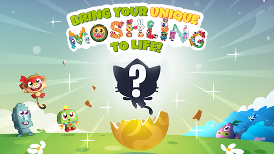 بازی اندروید شکار تخم هیولا - Moshi Monsters Egg Hunt