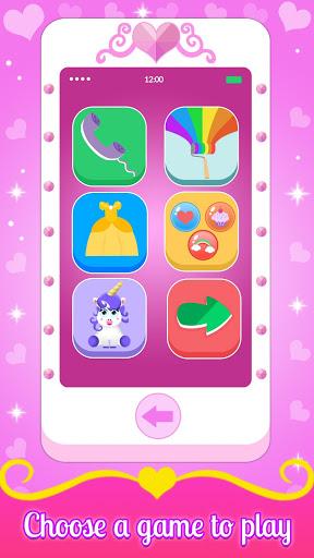 بازی اندروید تلفن شاهزاده خانم - Baby Princess Phone