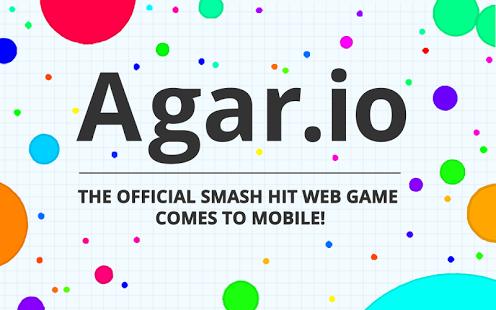 بازی اندروید آگار آی اُ - Agar.io