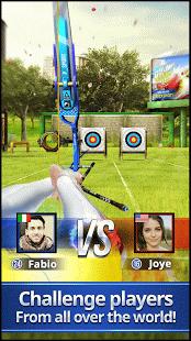 بازی اندروید پادشاه تیرانداز کمان - Archery King