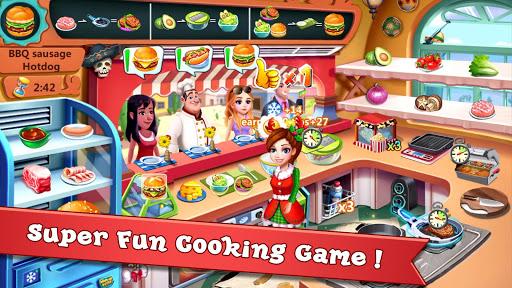 بازی اندروید ظهور سوپر آشپز - بازی های آشپزی رستوران - Rising Super Chef - Craze Restaurant Cooking Games