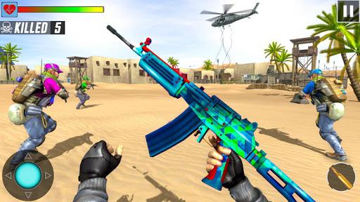 بازی اندروید شلیک تک تیرانداز - ترساندن بالعکس - Fps Shooting Strike - Counter Terrorist Game 2019