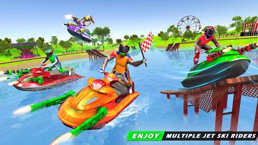 بازی اندروید بازی های مسابقه جت اسکی - Jet Ski Racing Games: Jetski Shooting - Boat Games