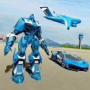اتومبیل رباتی پلیس آمریکا - هواپیما  حمل و نقل پلیس