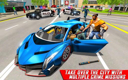 بازی اندروید پلیس شهر جنایت - Vegas Gangster Crime Simulator: Police Crime City