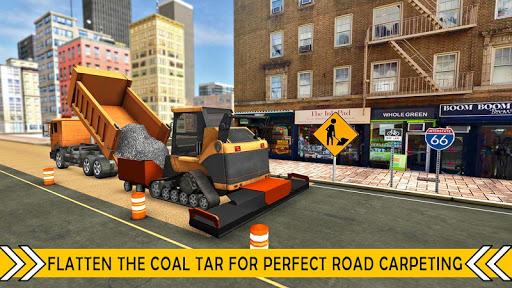 بازی اندروید ساخت و ساز جاده  - Road Builder City Construction