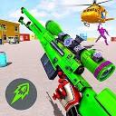 بازی تیراندازی با روبات Fps - بازی ضد تروریستی