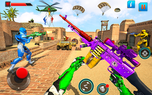 بازی اندروید بازی تیراندازی با روبات Fps - بازی ضد تروریستی - Fps Robot Shooting Games – Counter Terrorist Game