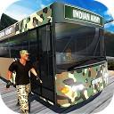 راننده اتوبوس ارتش هند