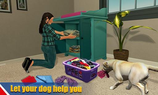 بازی اندروید سگ گربه مجازی  - Virtual dog pet cat home adventure family pet game