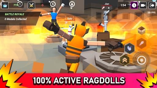 بازی اندروید میدان های سر و صدا - جنگ حماسی راگدول - Smashgrounds.io: Epic Ragdoll Battle