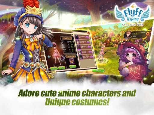 بازی اندروید میراث فیلف - Flyff Legacy - Anime MMORPG