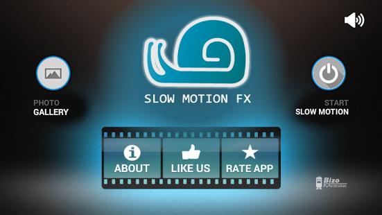نرم افزار اندروید افکت ویدیو تصویر آهسته - Slow Motion Video FX