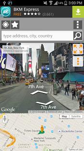 نرم افزار اندروید نمای پانورامای خیابان - Street Panorama View