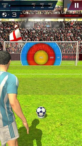 بازی اندروید قهرمان ضربه آزاد فوتبال - Soccer Championship-Freekick