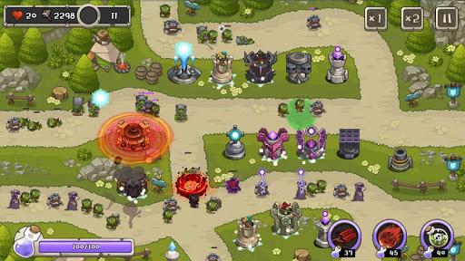 بازی اندروید پادشاه برج دفاعی - Tower Defense King
