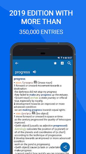 نرم افزار اندروید فرهنگ لغت انگلیسی آکسفورد - رایگان - Oxford Dictionary of English : Free