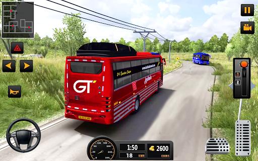 بازی اندروید شبیه ساز رانندگی اتوبوس شهر - City Coach Bus Driving Simulator: Driving Games 3D