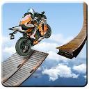 جاده غیر ممکن مسابقه با موتور - مانع موتور سیکلت سه بعدی