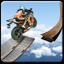 بازی جاده غیر ممکن مسابقه با موتور - مانع موتور سیکلت سه بعدی