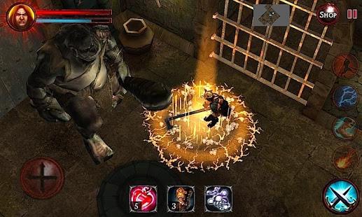 بازی اندروید اژدهای شیطانی - Demons & Dungeons (Action RPG)