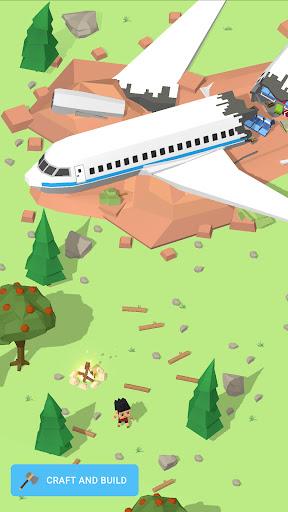 بازی اندروید ساختن جزیزه - برای زنده ماندن کلیک کنید - Isle Builder: Click to Survive