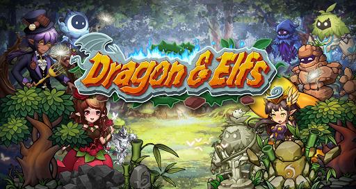 بازی اندروید اژده ها و الف ها - Dragon & Elfs