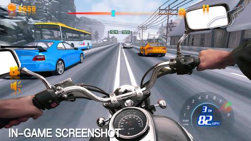 بازی اندروید موتور سرعت ترافیک  - Moto Speed Traffic