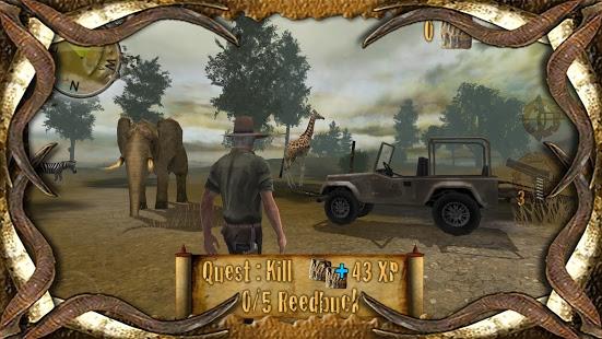 بازی اندروید شکار در صحرا - 4x4 Safari 2