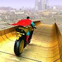 موتور سواری سوپر قهرمانان