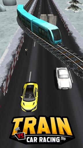 بازی اندروید قطار در مقابل اتومبیل 2 - Train Vs Car Racing 2 Player