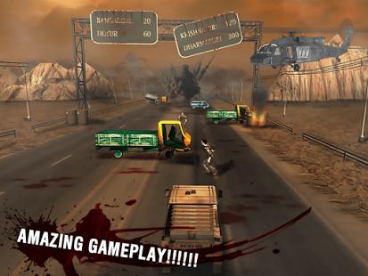 بازی اندروید جاده زامبی - Zombie Road 3D