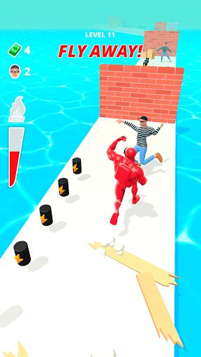 بازی اندروید حمله عضله - دویدن پر سر و صدا - Muscle Rush - Smash Running Game
