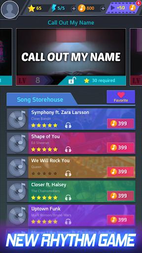 بازی اندروید ضرب موزیک - آهتگ پاپ - Tap Tap Music-Pop Songs