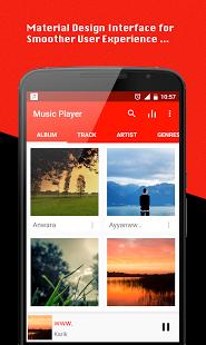 نرم افزار اندروید موزیک پلیر - Music Player