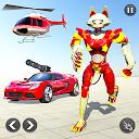 بازی ماشین ربات گربه - جنگ ماشین ربات