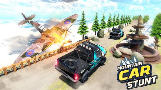 بازی اندروید شیرین کاری بالا رفتن از کوه - ماشین آفرود - Mountain Climb Stunt: Off road Car Games