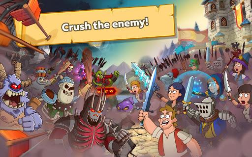 بازی اندروید قلعه پرستی - پادشاهی فانتزی - Hustle Castle: Fantasy Kingdom