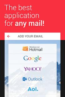 نرم افزار اندروید ایمیل من - myMail—Free Email Application