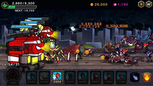 بازی اندروید جنگ هرو - دفاع فوق العاده استیکمن - HERO WARS: Super Stickman Defense