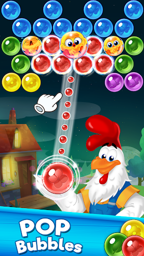 بازی اندروید تیرانداز حباب - Farm Bubbles Bubble Shooter Pop
