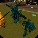 بازی ربات هلیکوپتر