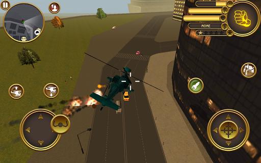 بازی اندروید ربات هلیکوپتر - Robot Helicopter