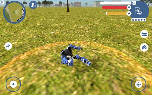 بازی اندروید ربات سوپر ماشین - Supercar Robot